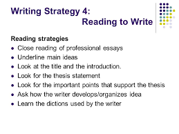 breaking through english writing barriers ppt  writing strategy 4 reading to write