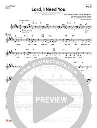 lord i need you sheet music lord i need youorchestration chris tomlin passion band praisecharts