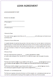 Loaning money can sometimes be the culprit behind a dissolving friendship between two friends. 45 Loan Agreement Templates Samples Write A Perfect Agreement