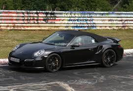 Spyshots: 2014 Porsche 911 Turbo Cabriolet Laps the Nurburgring ...