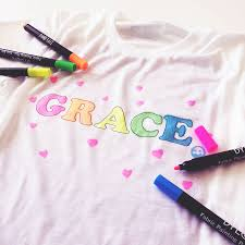 Make Your On Shirt Personalised Childrens Make Your Own Colour In T Shirt By Sarah