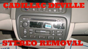 cadillac deville stereo removal youtube 1999 cadillac deville wiring harness 1999 Cadillac Deville Wiring Harness #26