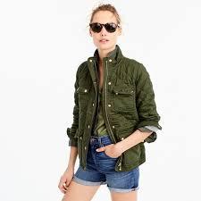 Quilted downtown field jacket : Women coats & jackets | J.Crew ... & Quilted downtown field jacket : Women coats & jackets | J.Crew Adamdwight.com