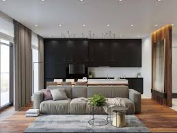 Bachelor Living Room Design Modern Bachelor Pad With Dramatic Design Features In Kiev