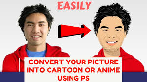 how to convert your picture into a cartoon or anime