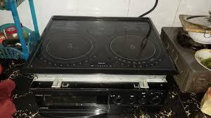 Bếp Âm- Bếp từ nhật bãi TOSHIBA BHP- M46K. Nấu nhanh- Tiết kiệm điện - An  toàn - Hàng đẹp 90% Zin - YouTube