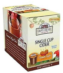 sugar free cider drink mix single serve k cup caramel apple 24 k