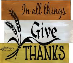Image result for In all things give thanks pictures