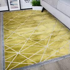 rug yellow and grey. modern ochre yellow \u0026 grey geometric rug and