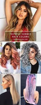 Summer Hair Colors 2018 Will Work