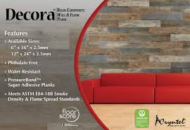 avalon pressurebond super adhesive lvt decora rigid composite wall floor plank