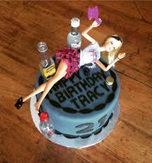Party Girl 21st Birthday Cake Sablee Charleston Wedding Cakes