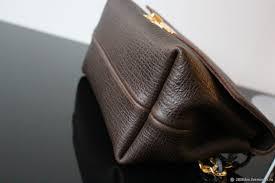 new brown leather handbag dark brown olga sluxurycreation my