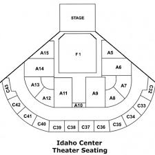 Idaho Center Concert Seating Chart Seating Charts Ictickets