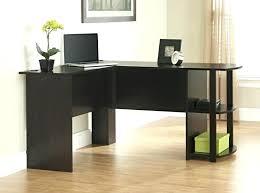 small cherry computer desk bedroom corner desks finish black l shaped work table white