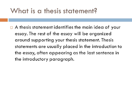 writing a thesis and topic sentences courtesy of the writing 2 what