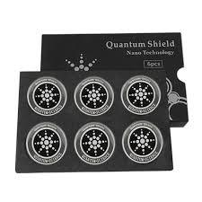 6Pcs Round Shield Sticker Anti Radiation Protection <b>Mobile</b> Phone ...
