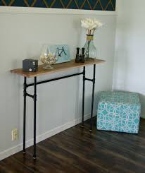skinny hallway table. Image Of: Simple Skinny Hallway Table V