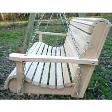 porch swings with frame freestanding swing plans free furniture within standing wooden yard designs standi