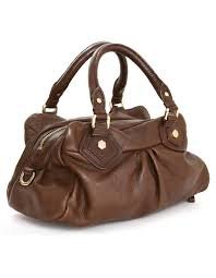 brown marc by marc jacobs classic q groovee satchel bag for