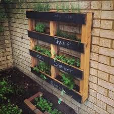diy pallet vertical herb garden hanging planter vertical herb in wood pallet herb garden diy