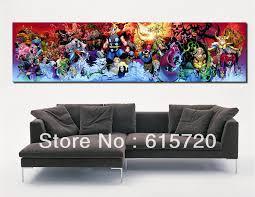 wall art decor ideas thor poster marvel wall art print