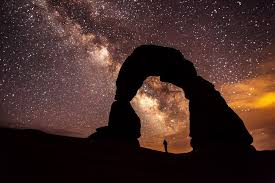 Image result for sunset moon and stars