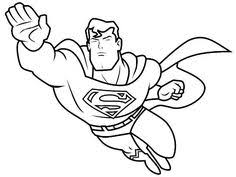 Small Picture Coloring Page from httpwwwcoloringpages4ucom Superhero