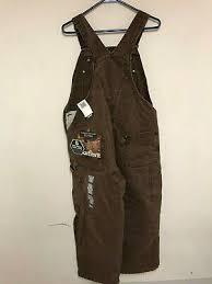 Carhartt Coverall Size Chart New With Scratches Carhartt Mens Duck Bib Overall R01 Black