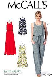 Jumpsuit Pattern Interesting Loose Fit Jumpsuit Pattern Bodice Overlay Dress Pattern