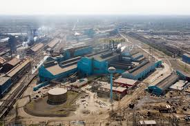gary works steel mill u s steel starts layoffs of up to 323 workers at gary works