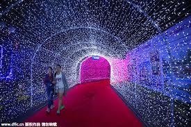 18 million lights illuminate s china city