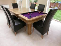 cool pool tables designs. Modren Tables Cool Pool Table With Sleek Wooden Framed And Large Dining High Back  Leather Chairs Set Throughout Tables Designs L