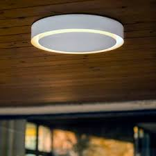 wood ceiling lighting. Contemporary Ceiling Light / Round Metal Methacrylate Wood Lighting