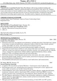 sample clinical nurse specialist resume infection control nurse practitioner resume example on resume