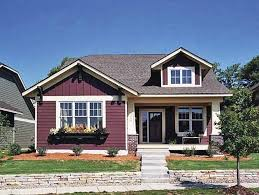 craftsman style house plans with front porch unique 1 story small house plans house design lovely