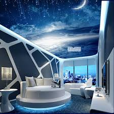 tech bedroom design. Brilliant Bedroom 3D Ceiling Printed Image For Hi Tech Bedroom Interior False Is A  That Consists Of Two Or More Layers The Stretch Ceiling Drop  With Tech Bedroom Design D