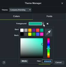 themes create create and manage themes techsmith support