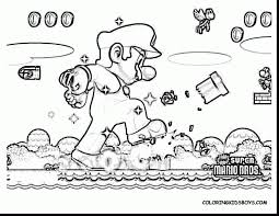 mario bros coloring pages. Plain Bros Super Mario Bros Coloring Pages With Wallpaper Background In Throughout G
