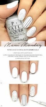 white nails designs for nails salon