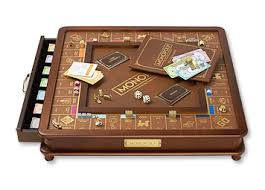 Wooden Monopoly Game Set Luxury Wood Monopoly Game Set Luxury Monopoly Set Orvis 2