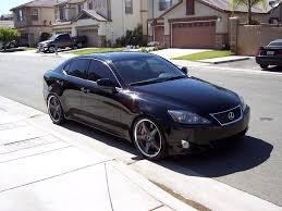 lexus is 250 2007 custom. Fine Lexus 2007 Lexus IS 250 Aftermarket Wheels Throughout Is Custom