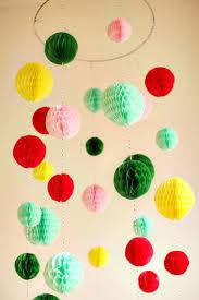 diy ball chandelier
