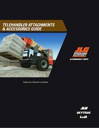 10k Lull Load Chart Telehandler Attachments And Accessories Guide Manualzz Com