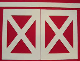 red and white barn doors. Modern Red And White Barn Doors With All The Other Parts Of Front B