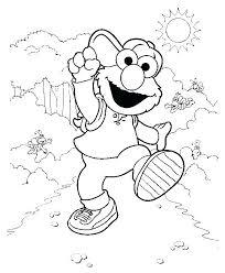 Sesame Street Printable Coloring Sheets Coloring Source Kids