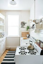 Cute Kitchen For Apartments Cute Apartment Therapy Kitchen With Diy Home Interior Ideas With