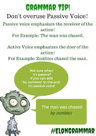 Grammar Tips Grammar Tips Passive Voice Collective Nouns