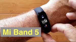 <b>XIAOMI MI BAND</b> 5 AMOLED Screen IP68/5ATM Waterproof <b>Newest</b> ...