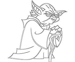 Small Picture Yoda Coloring Pages Star Wars Kids Coloring Pages Printable